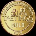 Tastings zlatna medalja Melkior medica