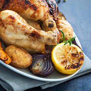 Piletina s medom i ružmarinom